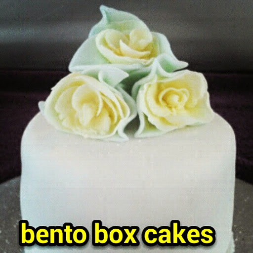 White Mothers Day Cake with Yellow Roses